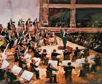 Orchestra  1987 Limited Edition Print by Mark King