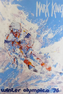 Winter Olympics 1976 Limited Edition Print - Mark King
