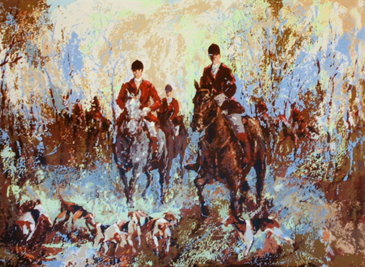 Morning Hunt AP  1980 Limited Edition Print by Mark King