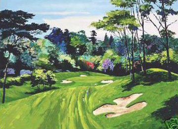 Bel Air Country Club  #6 Limited Edition Print by Mark King