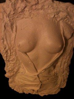 Girl Torso Unique Alabaster Sculpture 2015 Sculpture - Tim King