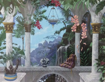 Meditation in Tijuca 1991 Limited Edition Print by John Kiraly
