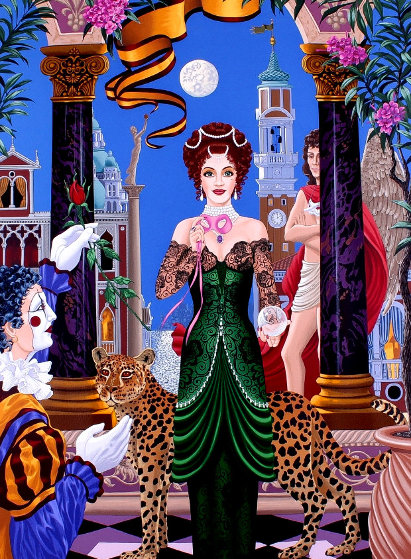 Fortune Teller AP Limited Edition Print by John Kiraly