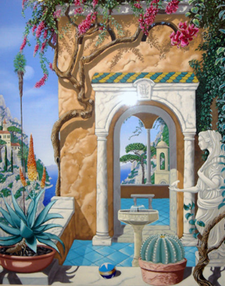 Time in Ravello Limited Edition Print by John Kiraly