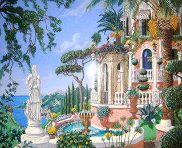 View to Sorrento 1992 Limited Edition Print by John Kiraly