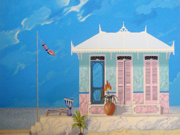 House That Aloe Built 1992 Limited Edition Print by John Kiraly