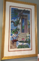 Door to the Caribbean AP 1990 Super Huge Limited Edition Print by John Kiraly - 1