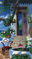 Door to the Caribbean AP 1990 Super Huge Limited Edition Print by John Kiraly - 0