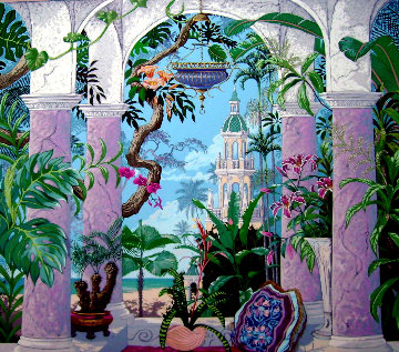 In Xanadu 1990 Limited Edition Print - John Kiraly