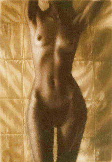 Halbakt (Small Halfnude) 1990 Limited Edition Print - Willi Kissmer