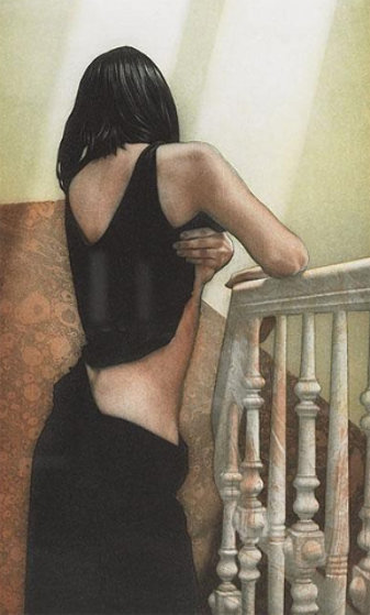 Treppenhaus Limited Edition Print by Willi Kissmer