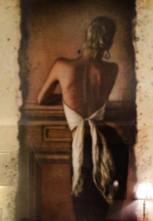 Vardem Kamin Limited Edition Print by Willi Kissmer