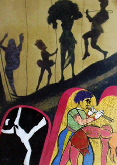 Performing Arts Center AP 1988 Limited Edition Print - R. B. Kitaj