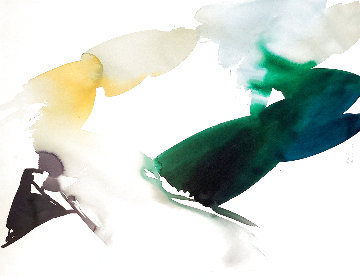 Iris Starting, Set of 2 Watecolors  1987 52x40 Watercolor - Peter Kitchell