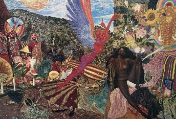 Annunciation 1990 Limited Edition Print - Mati Klarwein