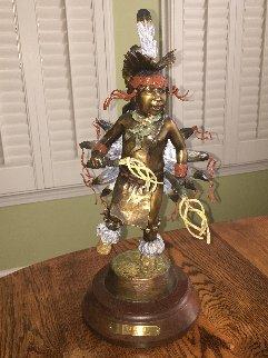 Little Dancer Bronze Sculpture 20 in Sculpture - Susan Kliewer