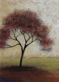 Red Tree 2003 22x18 Original Painting by Mike Klung