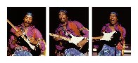 Hendrix Triptych Limited Edition Print by Robert Knight - 4