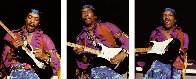 Hendrix Triptych Limited Edition Print by Robert Knight - 0