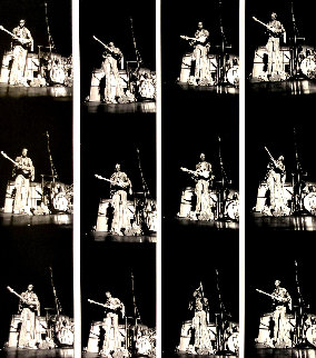Hendrix Contact Sheet Limited Edition Print - Robert Knight