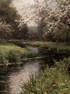 Untitled Painting 40x34 Huge Original Painting - Louis Aston Knight