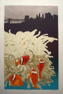 East River Dance PP 1978 Limited Edition Print - Michael Knigin