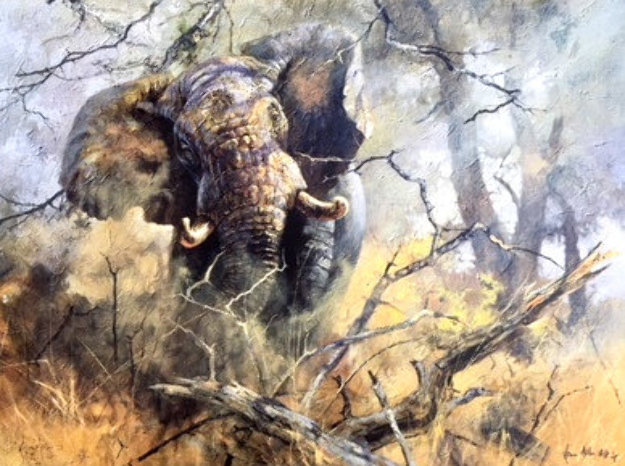 Aggression 1995  Limited Edition Print by Kobus Moller