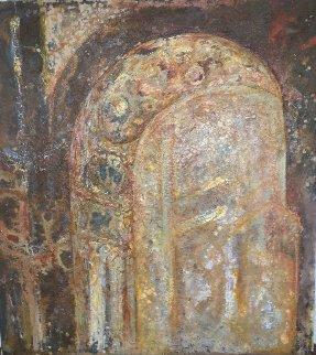 Paris Arch 2002 75x68 Original Painting by Horst Kohlem