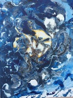 Biotop 2018 20x30 Original Painting by Horst Kohlem