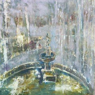Rondo II 2011 48x46 Original Painting - Horst Kohlem