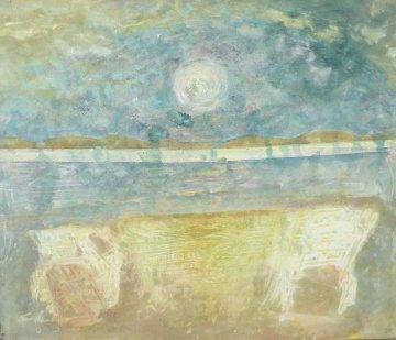 Moonshine Sonata 2007 52x63 Original Painting - Horst Kohlem