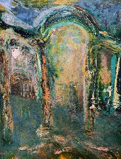 Tivoli III 1995 48x60 Paris Original Painting - Horst Kohlem