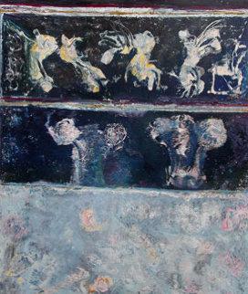 Petra 2004 80x70 Original Painting by Horst Kohlem