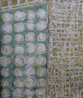 Bangkok Bamboo 2004 80x70 Original Painting - Horst Kohlem