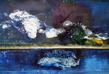 Keys 2011 58x46 Original Painting - Horst Kohlem