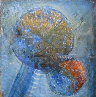 Space II 2009 76x80 Original Painting - Horst Kohlem