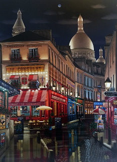 Paris By Night 2005 Limited Edition Print by Liudimila Kondakova