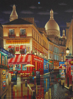 Paris By Night 2005 Limited Edition Print - Liudimila Kondakova