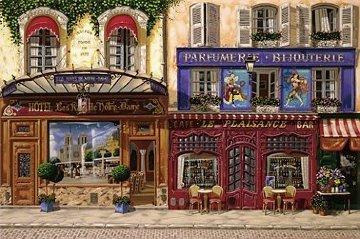 Les Rive De Notre Dame 1997 Limited Edition Print - Liudimila Kondakova