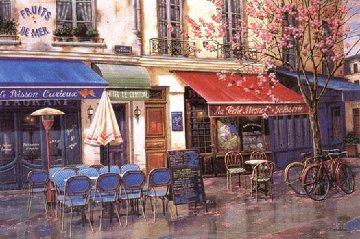 Springtime in Paris 2009 Limited Edition Print by Liudimila Kondakova