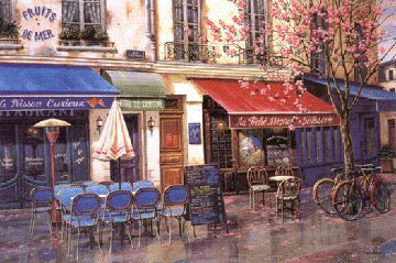 Springtime in Paris 2009 Limited Edition Print - Liudimila Kondakova