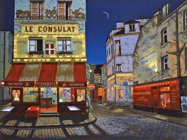 Le Consulat 2010 Limited Edition Print by Liudimila Kondakova