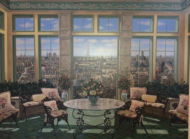 Room With a View 2005 Limited Edition Print by Liudimila Kondakova