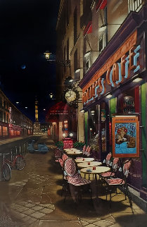 Follies Cafe 1998 Limited Edition Print - Liudimila Kondakova