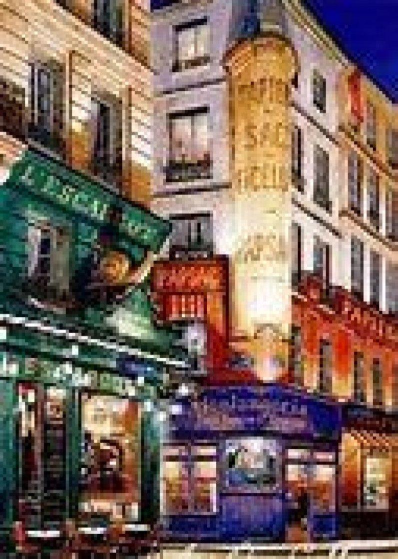 Parisian Fantasy l'Escargot 2000 Limited Edition Print by Liudimila Kondakova