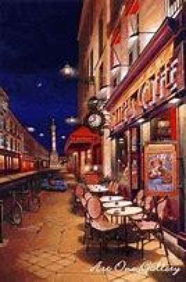 Folie's Cafe 2002 Limited Edition Print by Liudimila Kondakova