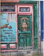 Boulangerie 2000 15x13 Original Painting by Liudimila Kondakova - 1