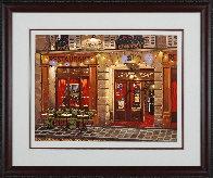 Le Vieux Chalet: Sidewalks of Paris 2004 Limited Edition Print by Liudimila Kondakova - 1
