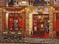 Le Vieux Chalet: Sidewalks of Paris 2004 Limited Edition Print by Liudimila Kondakova - 0
