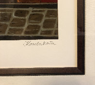 Le Vieux Chalet: Sidewalks of Paris 2004 Limited Edition Print by Liudimila Kondakova - 3